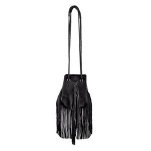 Linea Pelle Stevie suede fringe bag